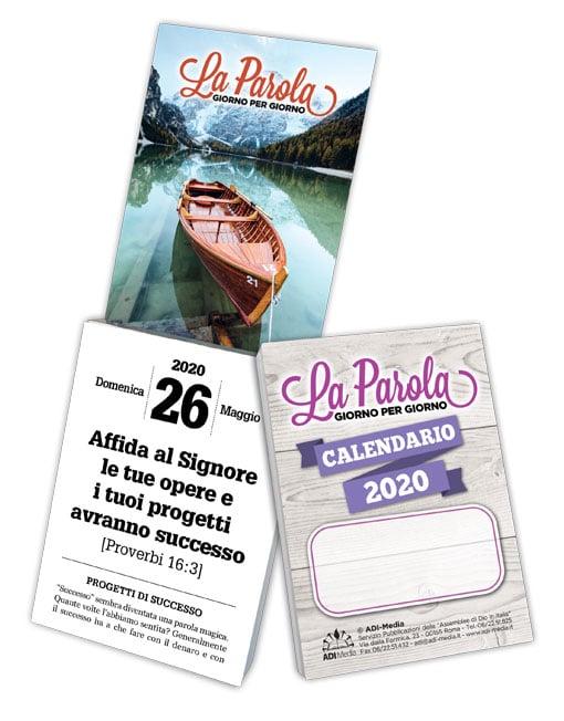 Calendario Giorno.La Parola Giorno Per Giorno Calendario Cristiano 2020 Piccolo